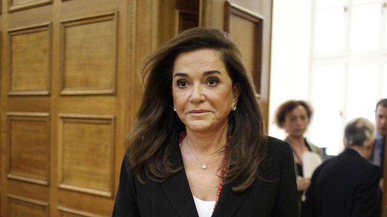 Σε επέμβαση στη σπονδυλική στήλη υποβλήθηκε η Ντόρα Μπακογιάννη