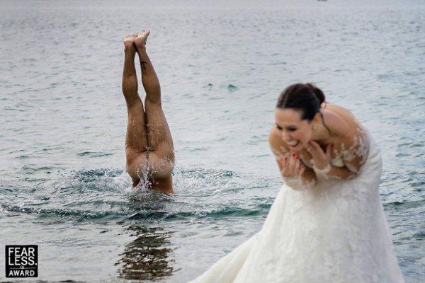 Δέκα απίστευτες φωτογραφίες από γάμους