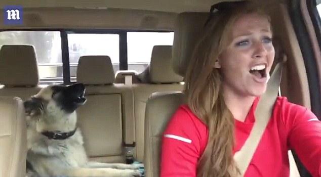 Η Άνι και η σκυλίτσα της τραγουδούν Queen και τρελαίνουν το Διαδίκτυο [βίντεο]
