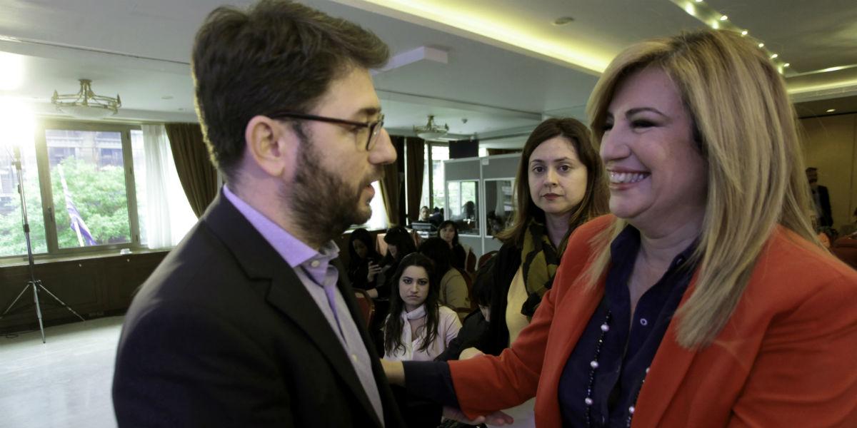 Γεννηματά – Ανδρουλάκης καταστρώνουν τη στρατηγική τους ενόψει της τελικής μάχης
