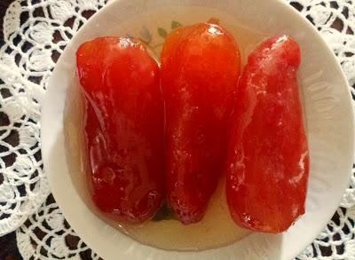 Ντοματάκι γλυκό -Παραδοσιακό από Κώ !!!