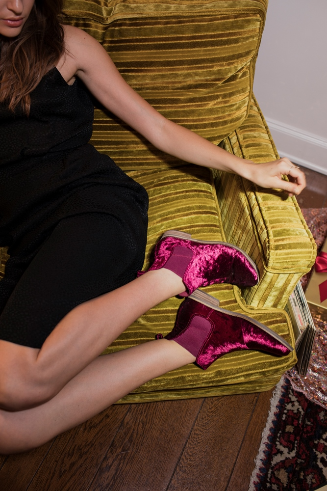 Velvet Goldmine: Αυτά τα βελούδινα μποτάκια θα σου κλέψουν την καρδιά