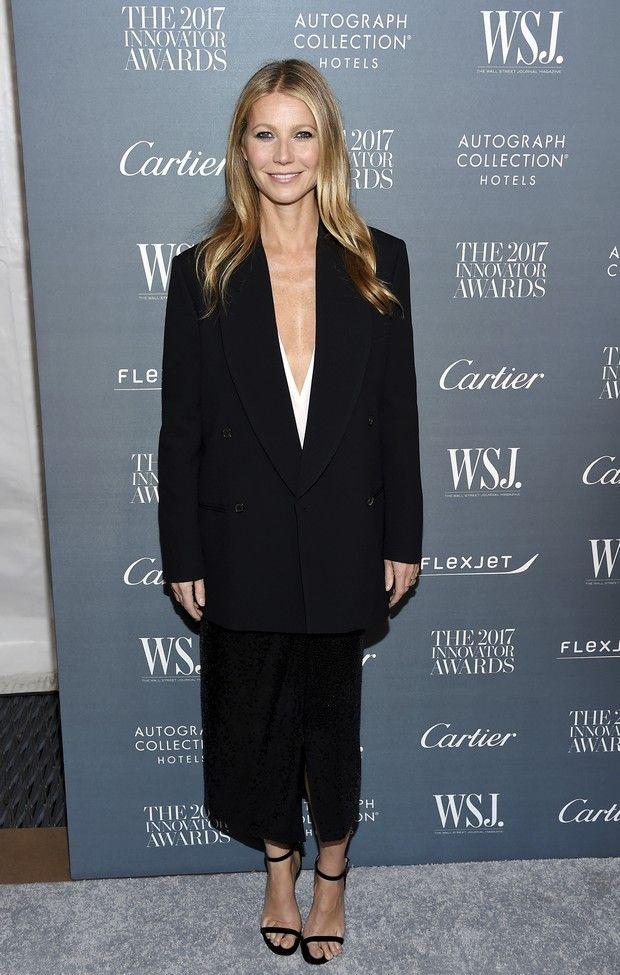 Gwyneth Paltrow με oversized σακάκι. Πόσο σοφιστικέ