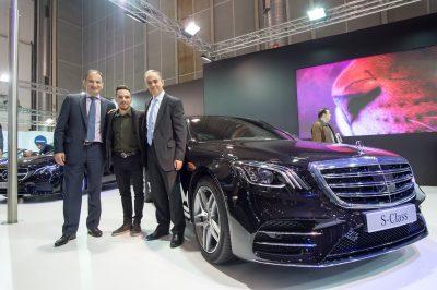 Θέμα συζήτησης στην έκθεση Αυτοκινήτου στο Ελληνικό το pickup της Mercedes