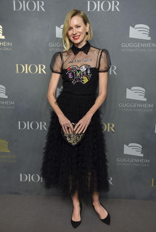 Watch τη Naomi Watts με μαύρο Dior