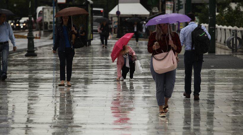ΕΜΥ: Ισχυρές βροχές και καταιγίδες το Σάββατο