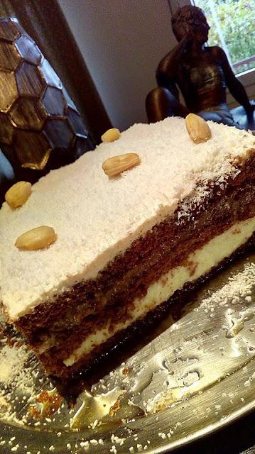 Χιονισμένη τούρτα καρύδας !!!