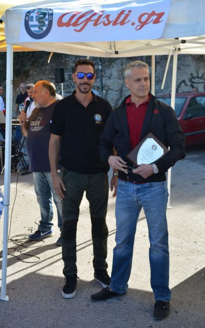 Η συνάντηση των φίλων της Alfa Romeo στο Λυκαβηττό