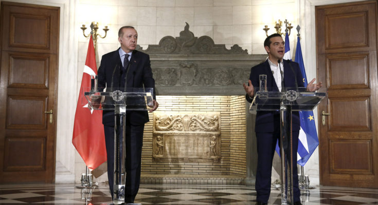 Διαφωνίες Τσίπρα – Ερντογάν στις κοινές τους δηλώσεις