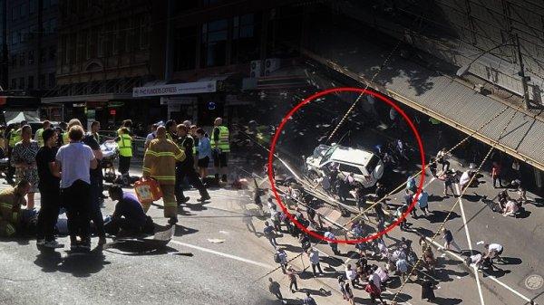 Τουλάχιστον 12 τραυματίες από παράσυρση αυτοκινήτου στην Μελβούρνη