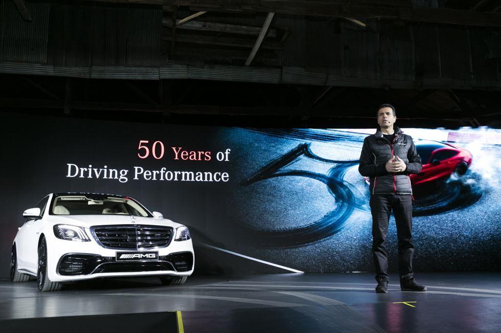 Συνεργασία Mercedes-Benz Κορέας και Samsung C & T για τα 50 χρόνια της AMG