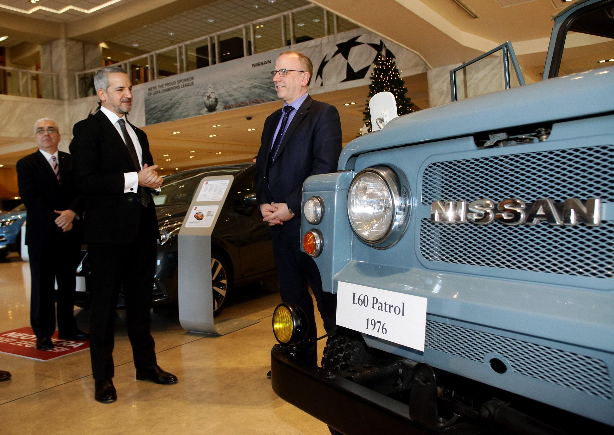 Τι δώρο έκανε ο Τάκης Θεοχαράκης στον  Πρόεδρο της Nissan Europe