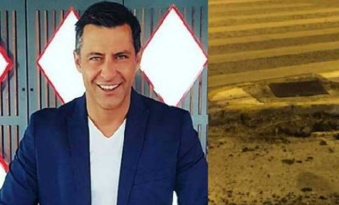 Κωνσταντίνος Αγγελίδης: Ανατριχιαστικές φωτογραφίες από το σημείο του τροχαίου! Οι γιατροί δίνουν μάχη να τον κρατήσουν στην ζωή!