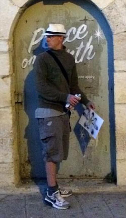 Τουρίστας ισχυρίζεται ότι φωτογράφισε τον διασημότερο »ανώνυμο» του κόσμου (ΕΙΚΟΝΑ)