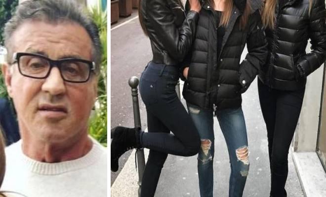 Οι τρεις Κόρες του Σιλβέστερ Σταλόνε έχουν κάνει το ίντερνετ να «Παραμιλά» [Εικόνες]