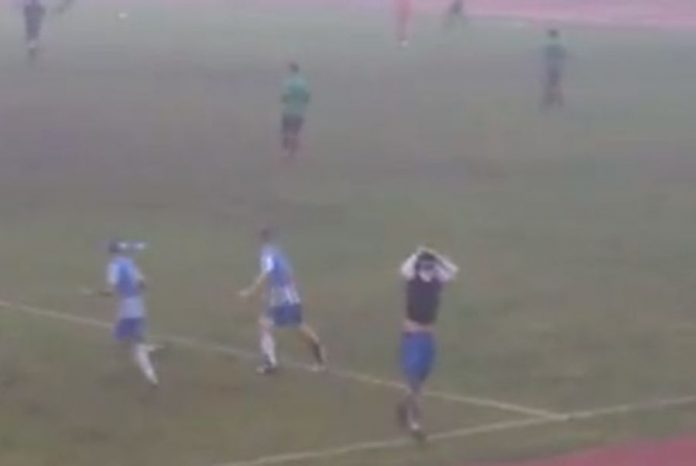 Πανηγύρισε έξαλλα για ένα γκολ που δεν μπήκε ποτέ [βίντεο]