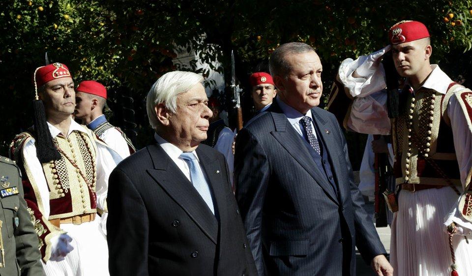 Παυλόπουλος προς Ερντογάν: Αδιαπραγμάτευτη η Συνθήκη της Λωζάνης