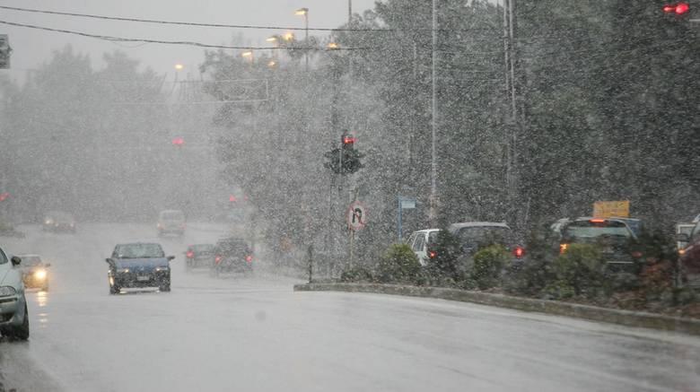 Χιόνια και πτώση της θερμοκρασίας – Αναλυτική πρόγνωση από την ΕΜΥ