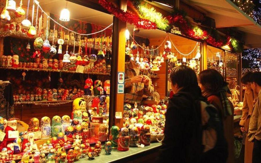 Θεσσαλονίκη: Χριστουγεννιάτικη αγορά Ρομά στο πάρκο της ΧΑΝΘ