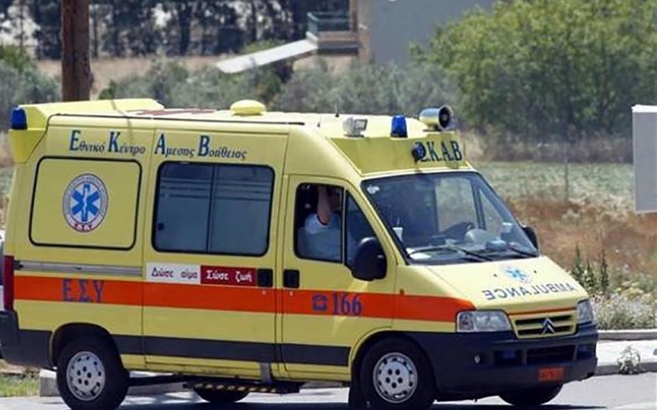 Κρήτη: Σοβαρό περιστατικό με απεγκεφαλισμό γυναίκας
