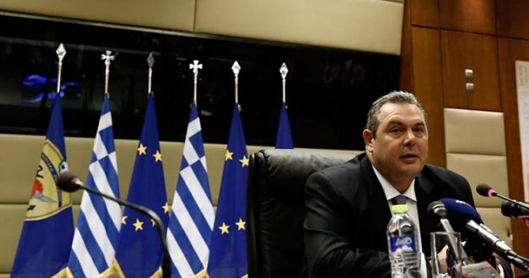 """Καμμένος: Δεν ψηφίζω το όνομα """"Μακεδονία"""" – Να συγκληθεί συμβούλιο αρχηγών"""