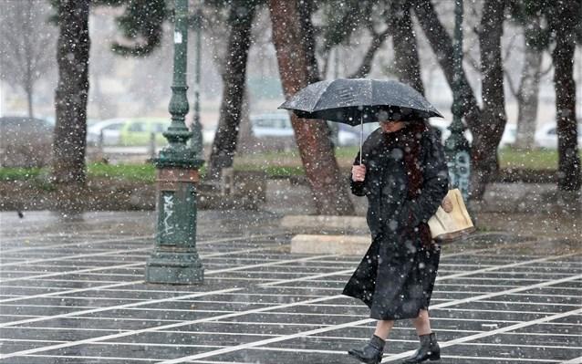 Επιδείνωση του καιρού και χιόνια – Πέφτει έως και 10 βαθμούς η θερμοκρασία