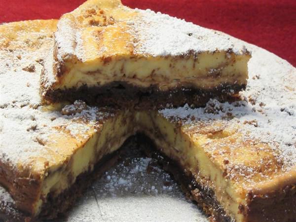 Τσιζ κέικ Μαρμπρέ !!
