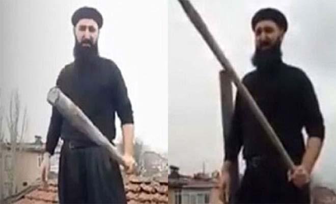 Μουσουλμάνος περιμένει στη στέγη τον Αϊ Βασίλη με… ρόπαλο! [Βίντεο]