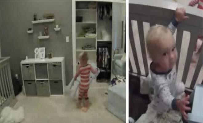 Μωρό είναι «εγκλωβισμένο» στην κούνια και ο μεγάλος του αδερφός δίνει την ξεκαρδιστικό λύση! [Βίντεο]