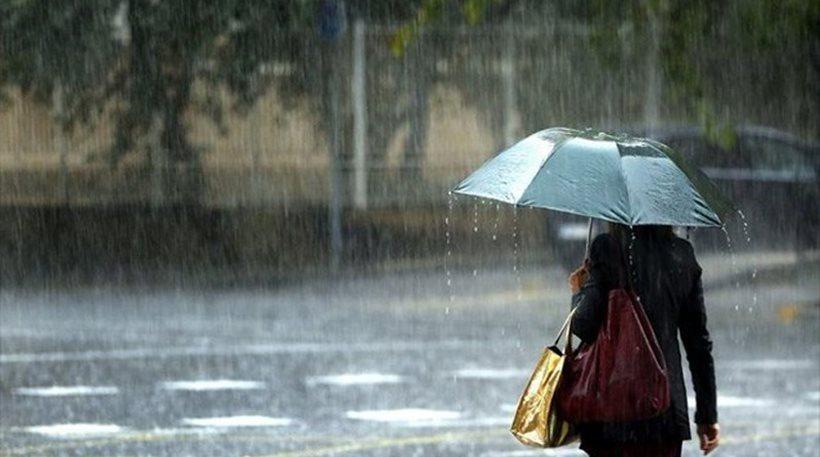 Κακοκαιρία με πολλές βροχές και καταιγίδες σε όλη την Ελλάδα