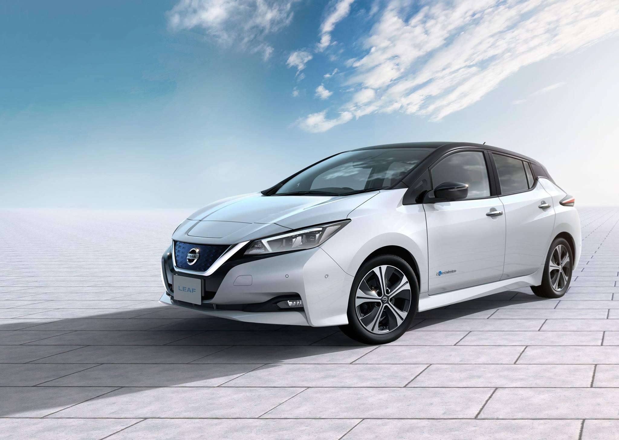 Στα μέσα Μαΐου θα έρθει στην Ελλάδα το 2ης γενιάς Nissan LEAF