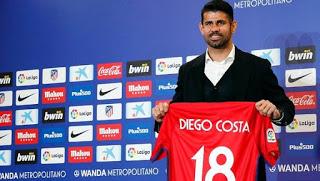 Ο Ντιέγκο Κόστα επέστρεψε στην Ατλέτικο Μαδρίτης
