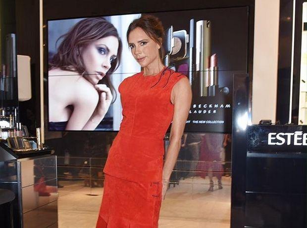 Ο απίθανος χρωματικός συνδυασμός της Victoria Beckham