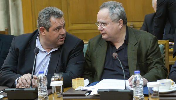 Καμμένος για Σκοπιανό: Επιμένω σε λύση που θα διασφαλίζει τα εθνικά συμφέροντα