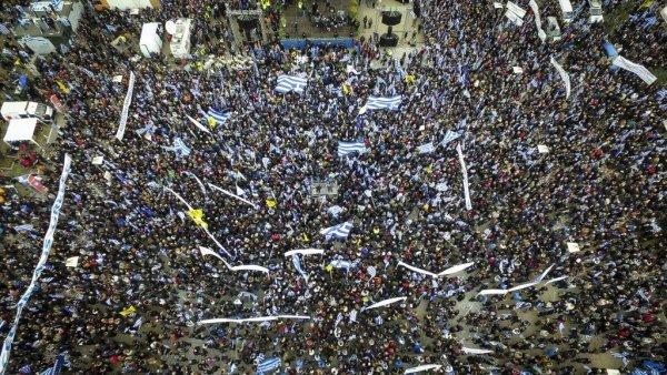 Πώς είδαν ξένα ΜΜΕ το συλλαλητήριο στη Θεσσαλονίκη
