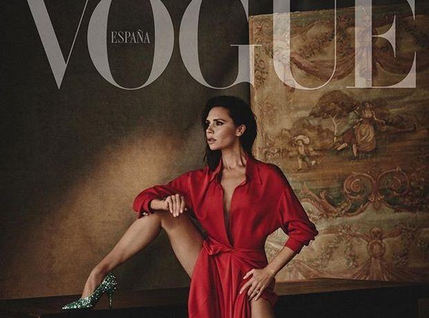 Η Victoria Beckham στο εξώφυλλο της ισπανικής Vogue. Στοπ