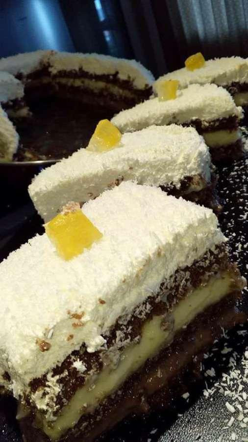 Αφράτη τούρτα καρύδας!!