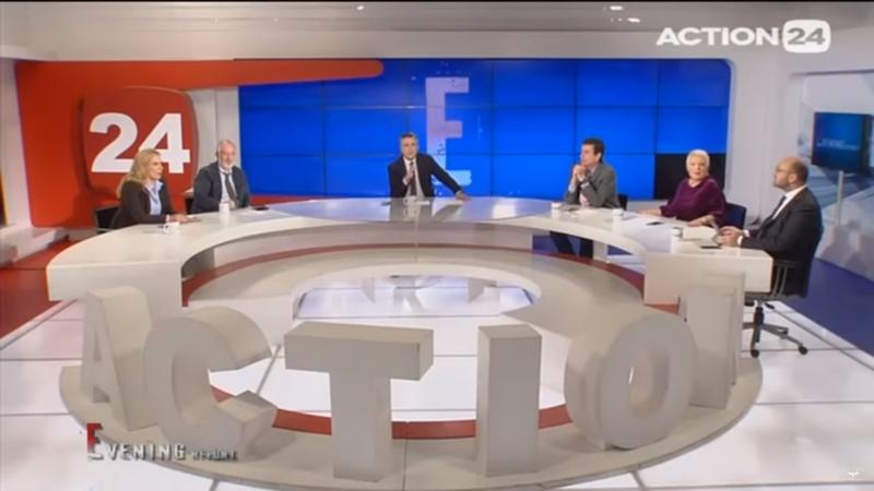 Η στιγμή του ισχυρού σεισμού της Αττικής, ζωντανά στο Action24 (Video)