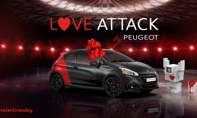 Η γιορτή των ερωτευμένων διαρκεί αρκετές ημέρες για την Peugeot