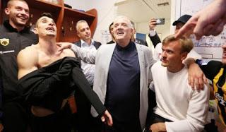 Οι παίκτες της ΑΕΚ δέχθηκαν το στοίχημα του Μελισσανίδη
