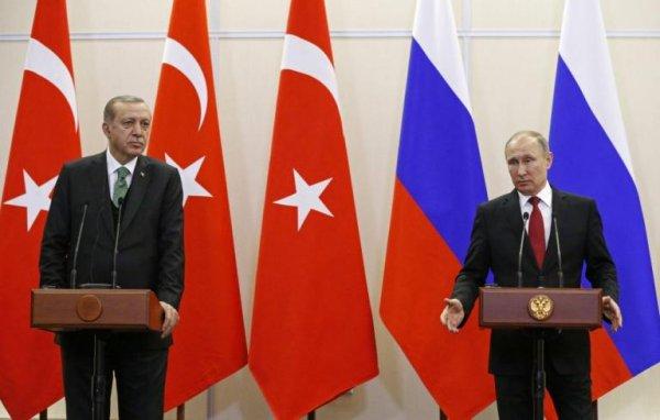 Τηλεφωνική επικοινωνία Ερντογάν – Πούτιν για Αφρίν και Ιντλίμπ