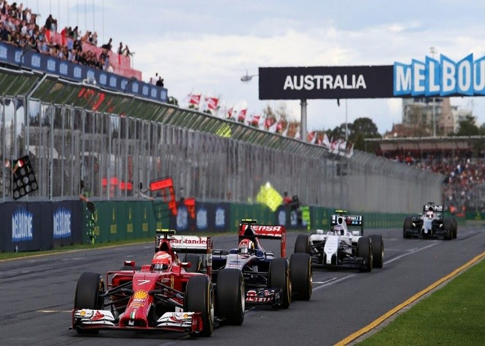 Το Άλμπερτ Παρκ πανέτοιμο για την εκκίνηση του 1ου αγώνα της F1
