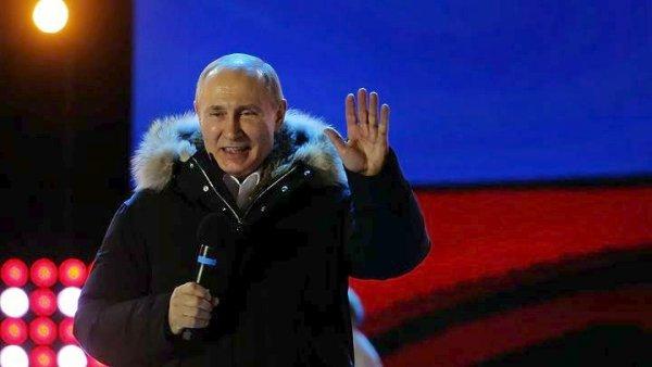 Επανεκλέγεται ο Πούτιν – Για έξι ακόμα χρόνια στο τιμόνι της Ρωσίας