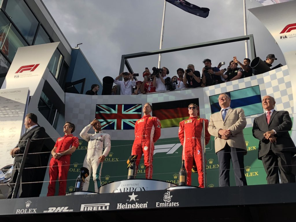 O Sebastian Vettel νικητής στο πρώτο Grand Prix της χρονιάς στην Αυστραλία!