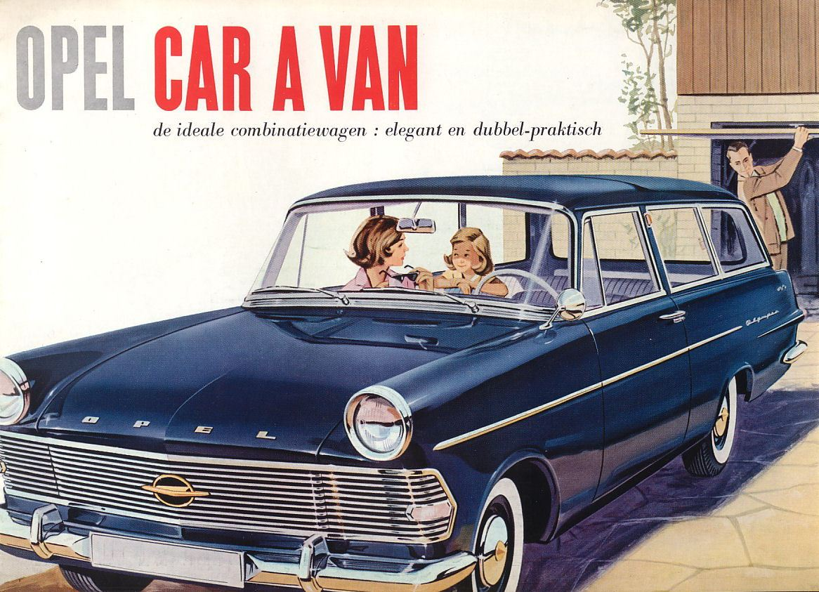 Έξι Δεκαετίες με τα Καλύτερα Station Wagon της Opel- Το πρακτικό μπορεί να είναι και Ελκυστικό