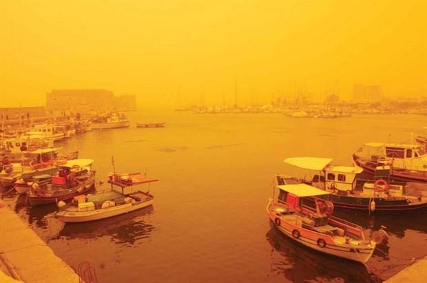Κρήτη: Αφρικανική σκόνη μέχρι τη Δευτέρα
