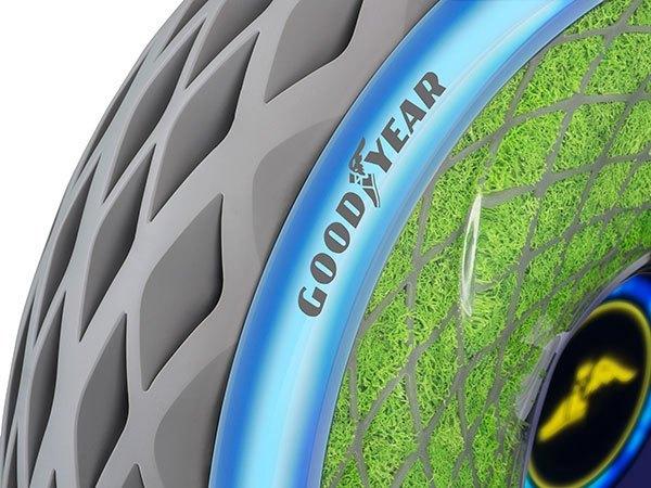 Oxygene :Το concelt ελαστικό της Goodyear