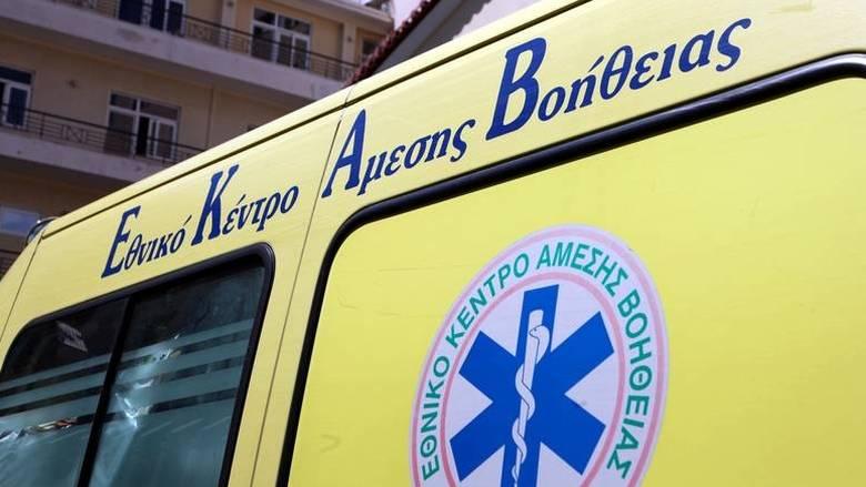 Κρήτη: Σοβαρό τροχαίο ατύχημα με δύο τραυματίες