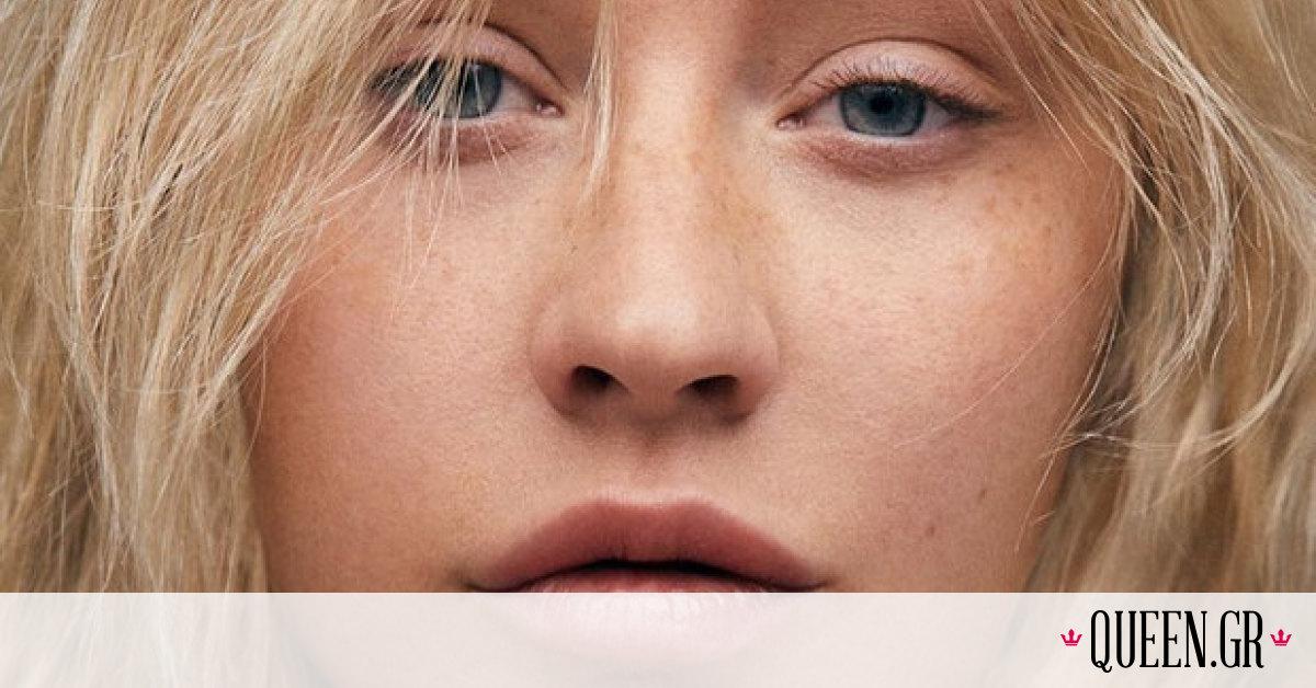 H Christina Aguilera φωτογραφίζεται χωρίς make up για γνωστό περιοδικό μόδας