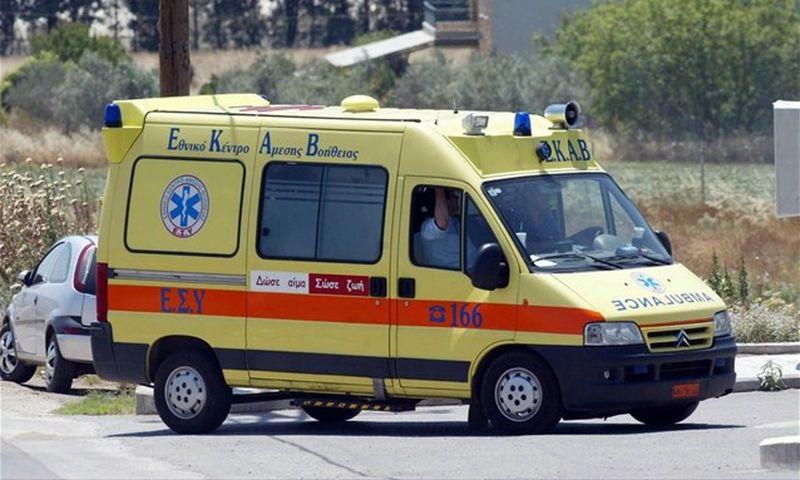 Ηράκλειο: Τροχαίο ατύχημα με τραυματία νεαρό οδηγό